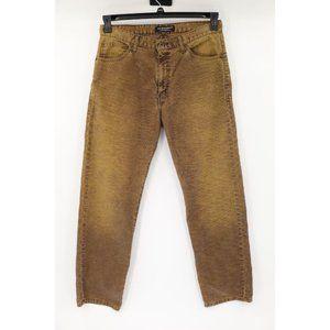 Ralph Lauren men' 33 vintage polo jeans corduroy